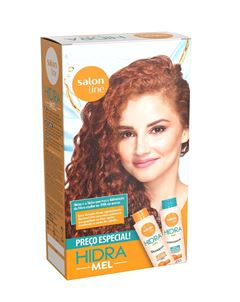 Kit Shampoo + Condicionador Salon Line Hidra 300 ml Cada Mel