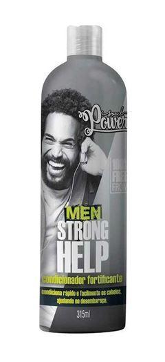 Condicionador Fortificante Soul Power 315 ml Men Strong Help