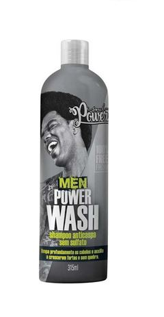 Shampoo Soul Power Men 315 ml Wash Anticaspa