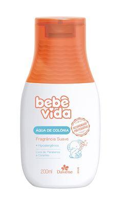 Agua de Colonia Davene Bebe Vida 200 ml Suave