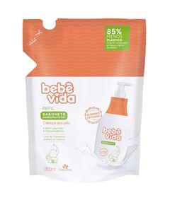 Sabonete Liquido Davene Bebe Vida Refil 350 ml