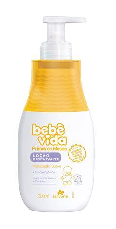 Loc?o Hidratante Davene Bebe Vida Primeiros Meses 200 ml Suave