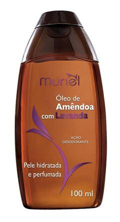 Oleo Corporal Muriel 100 ml Oleo de Amendoa com Lavanda