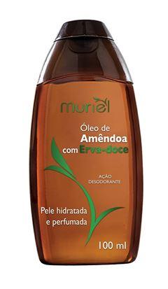Oleo Corporal Muriel 100 ml Oleo de Amendoa com Erva-Doce