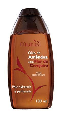 Oleo Corporal Muriel 100 ml Oleo de Amendoa com Flor de Cerejeira