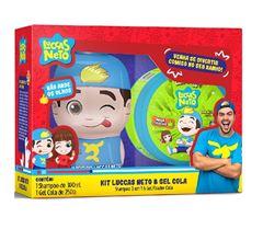 Kit Infantil Shampoo 3 em 1 300 ml + Gel Cola 250 gr Kids