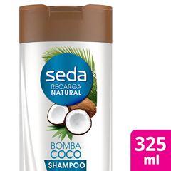 Shampoo Seda Recarga Natural 325 ml Bomba de Coco