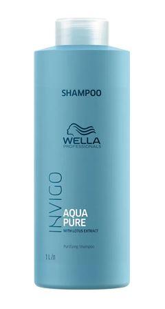Shampoo Wella Professionals Invigo 1000 ml Aqua Pure