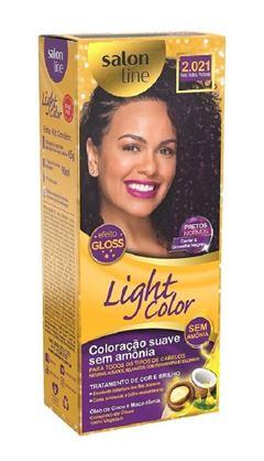 Tonalizante Salon Line Light Color Preto Violeta Profundo 2.021