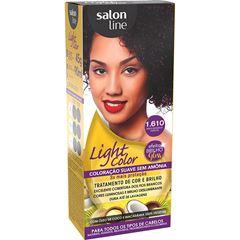 Tintura Salon Line Light Color 1.610 Preto Bordeaux Especial