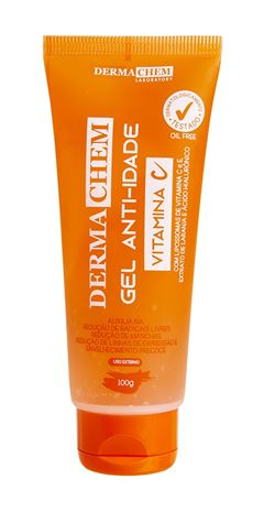 Gel Anti-Idade Dermachem 100 gr Vitamina C