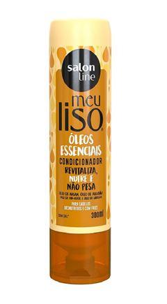 Condicionador Salon Line Meu Liso 300 ml Oleos Essenciais