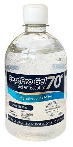 Alcool Gel SeptPro Gel 70° 440 gr
