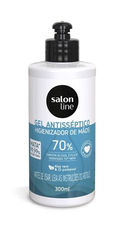 Alcool Gel Antisseptico Salon Line 300 ml 70%