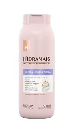 Loção Hidratante Hidramais 500 ml Algodão e Ômega +