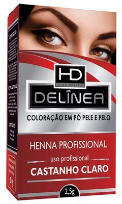 HENNA SOBRANC DELINEA 2,5GR   CAST CL