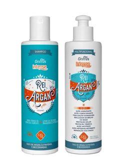 Kit Griffus Intense Rei Argan Shampoo + Condicionador 220ml