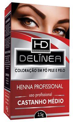 HENNA SOBRANC DELINEA 2,5GR   CAST MED