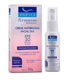 Hidratante Facial Antirrugas Dia Nupill 30 gr Q10 FPS 30