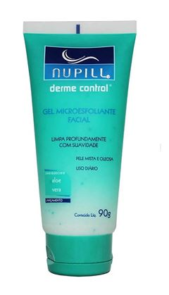 Gel Microesfoliante Facial Nupill 90 gr Derme Control