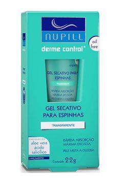 Gel Secativo Nupill Antiacne 22 gr Derme Control