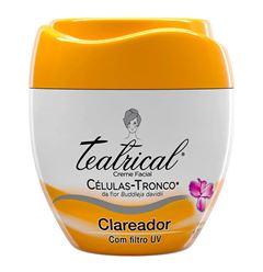 Creme Facial Teatrical 100g Clareador