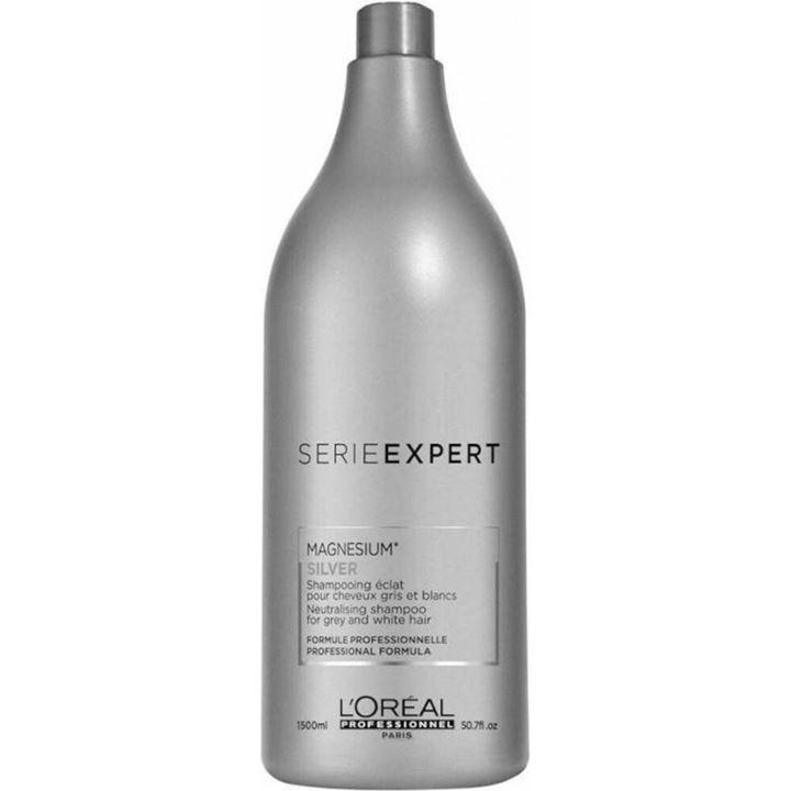 Shampoo LOréal 1,5L Serie Expert Magnesium Silver