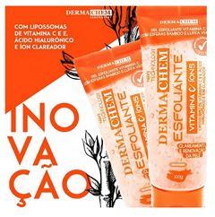 Gel Esfoliante Facial Dermachem 100 gr Vitamina C