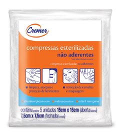 COMPRESSA CREMER EST ETO 11F 7,5X7,5 C/5