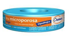 Fita Microporosa Cremer 1,2cm x 4,5m Bege