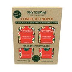 Kit Shampoo + Condicionador Phytoervas 250 ml Super-Restauração