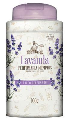 Talco Perfumado Memphis 100 gr Lavanda