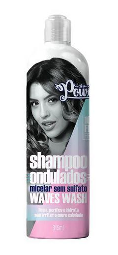 Shampoo Soul Power 315 ml Waves Wash