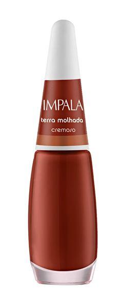 Esmalte Impala Novas Cores Cremoso 7,5 ml Terra Molhada