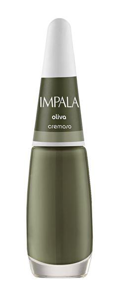 Esmalte Impala Novas Cores Cremoso 7,5 ml Oliva