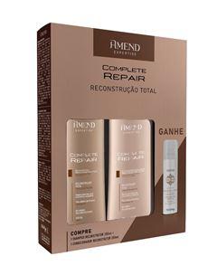 Kit Amend Shampoo + Condicionador 250 ml Complete Repair Grátis Shampoo a Seco