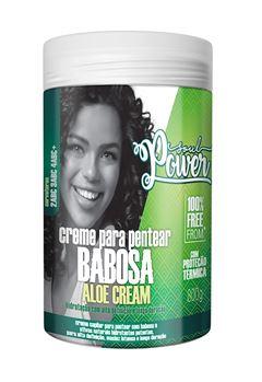 Creme Para Pentear Soul Power 800 gr Babosa Aloe Cream