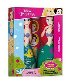 Kit Shampoo + Condicionador Impala Princesas 250 ml Ariel