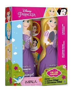 Kit Shampoo + Condicionador Impala Princesas 250 ml Rapunzel