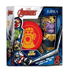 Kit Shampoo 2 em 1 + Gel Fixador Impala Avengers Thanos