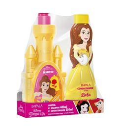 Kit Shampoo 400 ml + Condicionador 250 ml Impala Princesas Bela