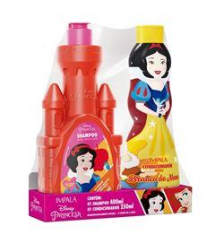 Kit Shampoo 400 ml + Condicionador 250 ml Impala Princesas Branca de Neve