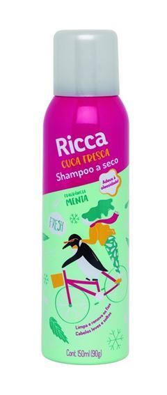 Shampoo a Seco Ricca 150 ml Menta