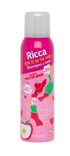 Shampoo a Seco Ricca 150 ml Maçã do Amor