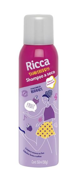 Shampoo a Seco Ricca 150 ml Berries