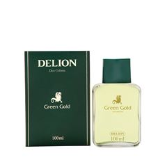 Deo Colônia Delion Green Gold 100 ml