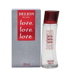 Deo Colônia Delion Love Love Love 100 ml