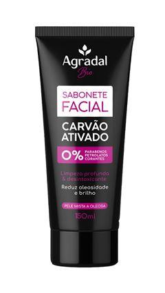 Sabonete Facial Agradal 150 ml Carv?o Ativado