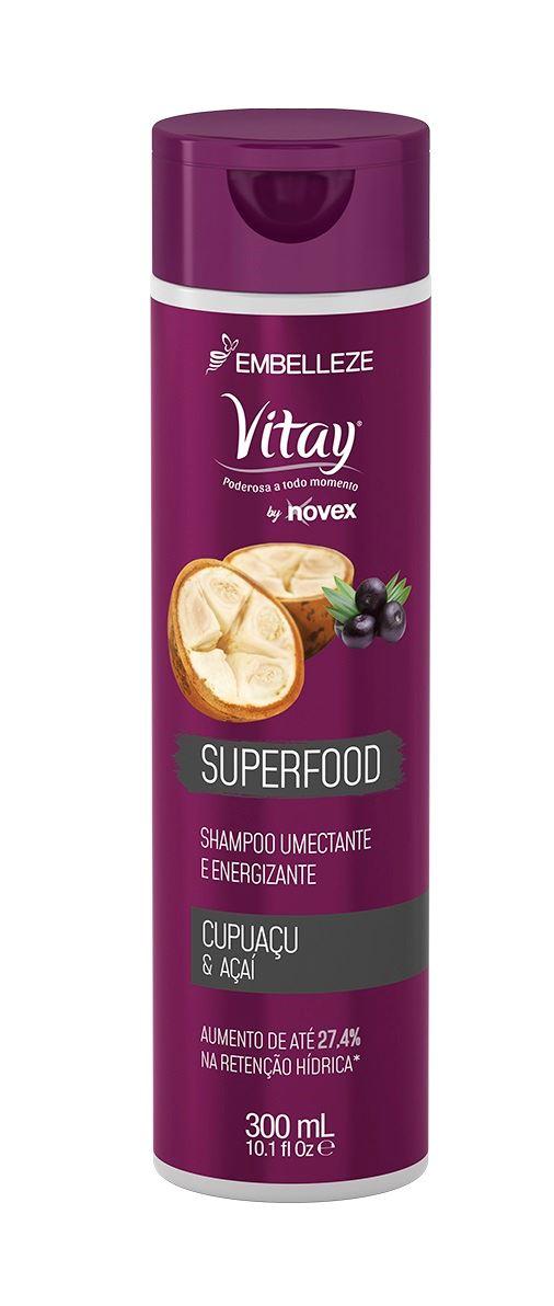 Shampoo Vitay 300 ml Cupuacu & Acai