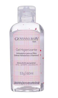 Gel Higienizante Giovanna Baby 60 ml Classic
